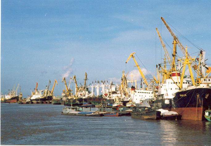 Hai Phong Port.