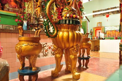 Arcilla Pagoda en Soc Trang