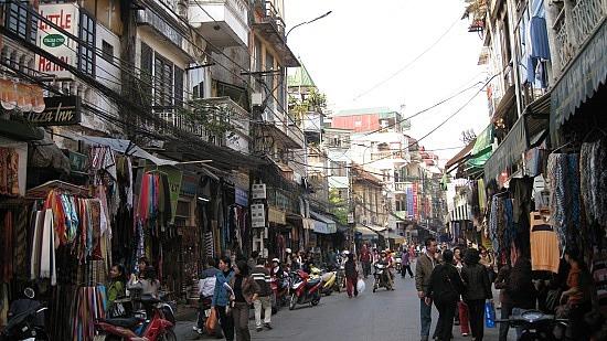 Casco antiguo de Hanoi