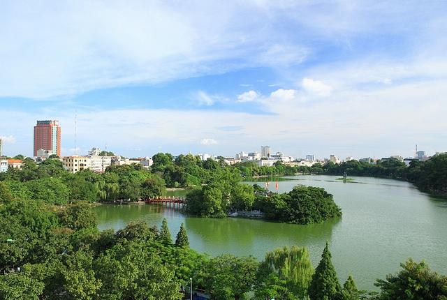 Hoan Kiem Panorama
