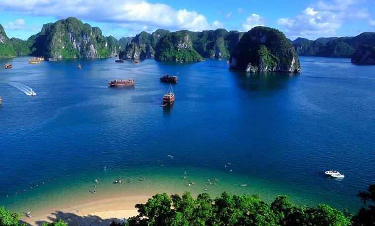 La bahía de Halong