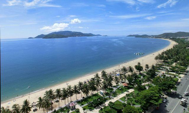 Nha Trang playa de la ciudad