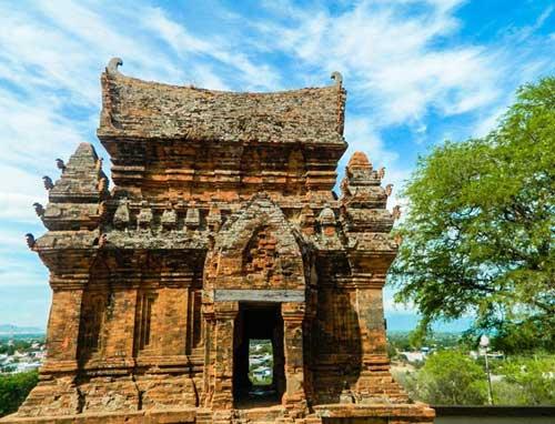 Cham complejo de la torre Po Klong Garai en Ninh Thuan-02