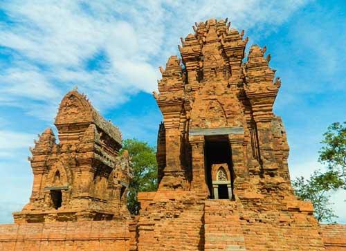 Cham complejo de la torre Po Klong Garai en Ninh Thuan-03