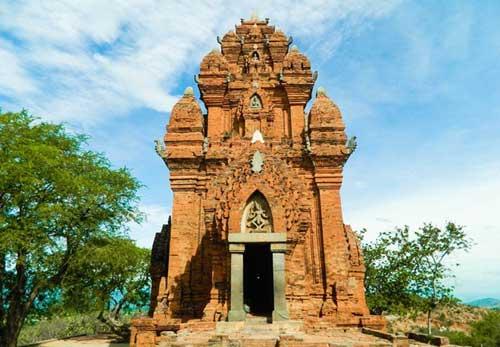 Cham complejo de la torre Po Klong Garai en Ninh Thuan-04