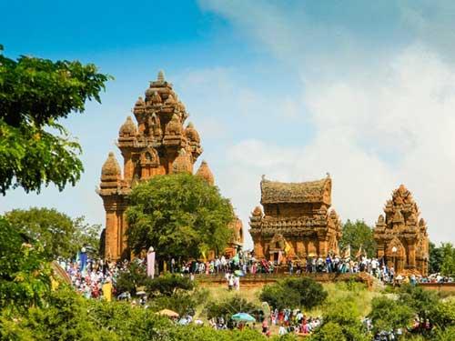 Cham complejo de la torre Po Klong Garai en Ninh Thuan-07