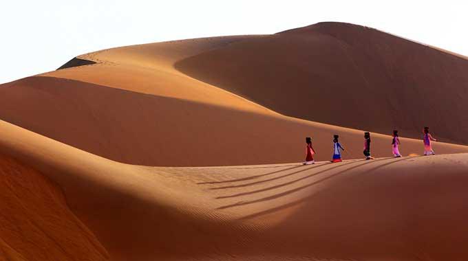dunes de sable sans fin