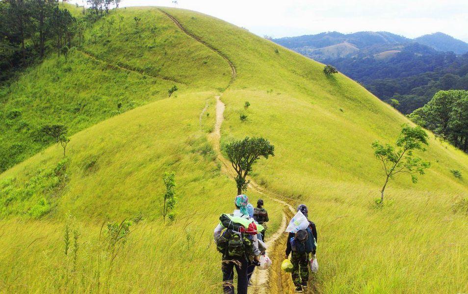 Trekking Ta Nang Phan Dung